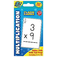 Learning Playground Flash Cards Multiplication Pack