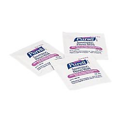 Purell Premoistened Sanitizing Hand Wipes White