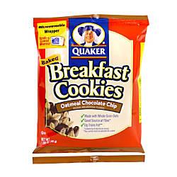 Quaker Breakfast Cookies Chocolate Chip Box