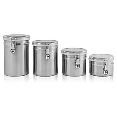 Ragalta 4 Piece Stainless Steel Canister
