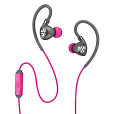 JLab Fit 20 Sport Earbuds Pink
