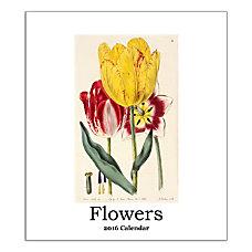 Retrospect Monthly Desk Calendar Flowers 6