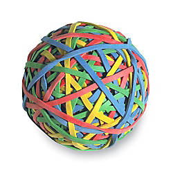 ACCO 275 Rubber Band Ball Assorted