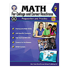 Carson Dellosa Math For College And