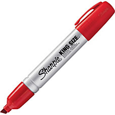 Sharpie King Size Permanent Marker Red