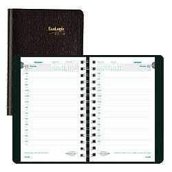 Brownline EcoLogix Daily Planner 5 x