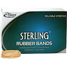 Alliance Sterling Rubber Bands 16 Size