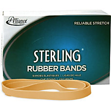 Alliance Sterling Rubber Bands 107 Size