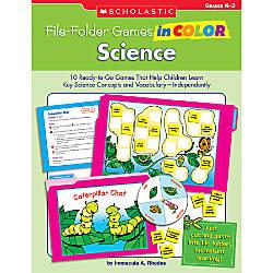 Scholastic File Folder Games in Color