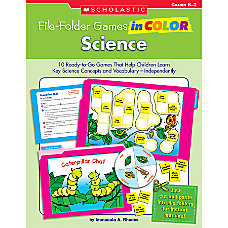Scholastic File Folder Games in Color