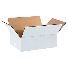 Office Depot Brand White Corrugated Boxes