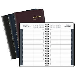 AT A GLANCE Daily Appointment Planner