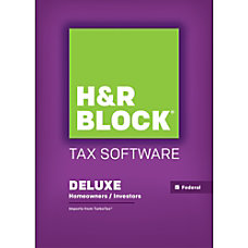 H R Block Tax Software 15