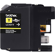 Brother LC101 Y Yellow Ink Cartridge