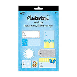 Sandylion Holiday Gift Tag Pads Winter