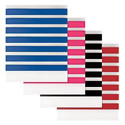 DiVoga Stripes 2 Pocket Poly Portfolio