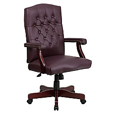 Flash Furniture Martha Washington Leather High