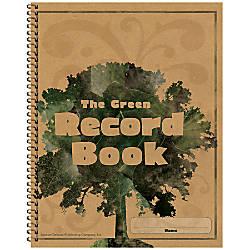 Carson Dellosa Green 100percent Recycled Record