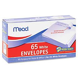 Mead No675 All purpose White Envelopes