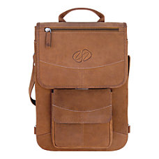 MacCase Leather Flight Jacket Bag With