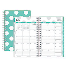Blue Sky Wire O WeeklyMonthly Plannner