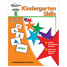 Carson Dellosa Early Learning Skills Book