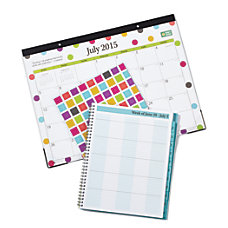Blue Sky Desk Pad Calendar Teacher