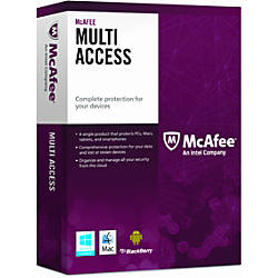 Mcafee multi access security by office depot amp officemax