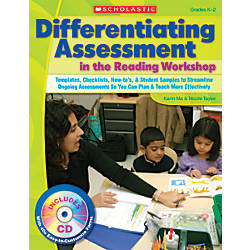 Scholastic Differentiating Assessment In The Reading