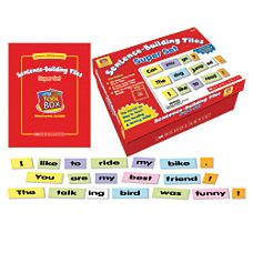 Scholastic Little Red Tool Box Sentence