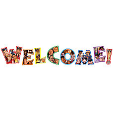 Carson Dellosa Photographic Welcome Bulletin Board