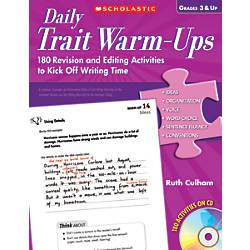Scholastic Daily Trait Warm Ups