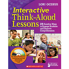 Scholastic Interactive Think Aloud Lessons
