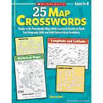 Scholastic 25 Map Crosswords