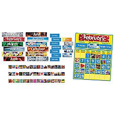 Scholastic Photo Calendar Bulletin Board 24