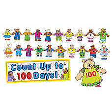 Scholastic 100th Day Counting Bears Bulletin