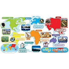 Scholastic World Continents Bulletin Board 24