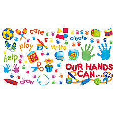 Scholastic Our Hands Can Bulletin Board