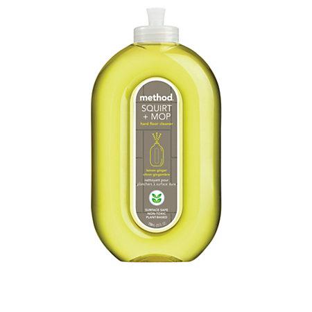 method squirt and mop all floor cleaner lemon ginger 25 oz. Black Bedroom Furniture Sets. Home Design Ideas