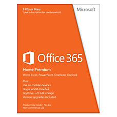Microsoft Office 365 Home Spanish Version