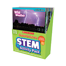 SuperScience STEM Instant Activities Grades 4