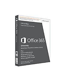 Microsoft® Office 365™ University, English Version, 4-Year Academic Subscription, Product Key