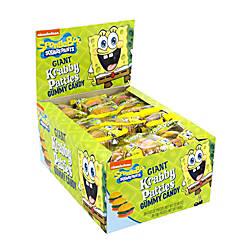 SpongeBob Giant Krabby Patty Gummy Candy