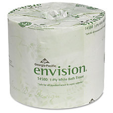 Envision Economical 1Ply Bath Tissue 1