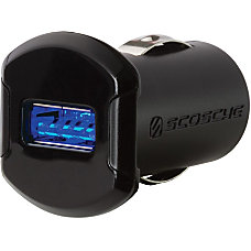 Scosche 12W USB Car Charger with