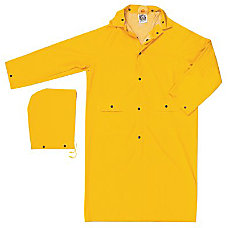 CLASSIC 35MM PVCPOLYESTER 49 COAT YELLOW