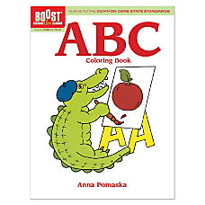 Dover Publications Boost Coloring Book ABC