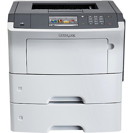 lexmark ms610dtn laser printer by office depot officemax