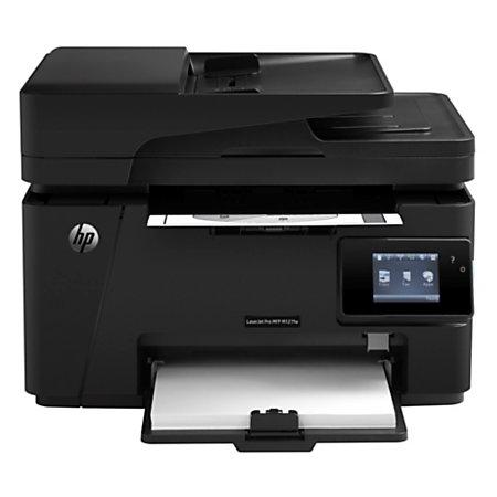 HP LaserJet Pro M127fw Wireless Monochrome Laser Multifunction Printer Copier Scanner Fax by ...