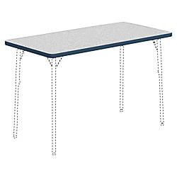 Lorell Classroom Rectangular Activity Tabletop Gray
